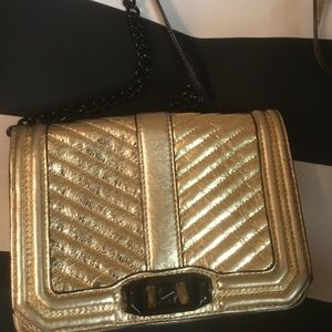 Gorgeous Gold Crossbody Purse